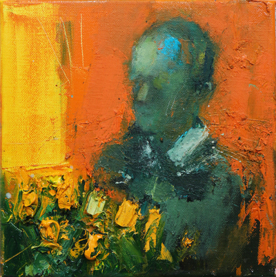 Henry Jabbour Indelible Scents II Oil on linen 30 x 30 cms £600 SOLD