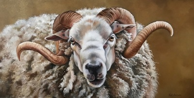 Golden Fleece Oil 15 x 30 cms £790