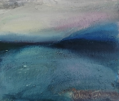 Helena Emmans Deep Winter Light Mixed media  22 x 26 cms £160