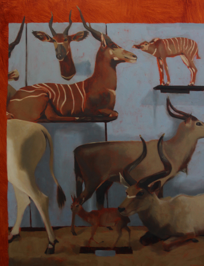 Jane Gardiner Deer Family 61 x 46 cms £1600