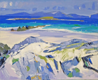 Marion Thomson  Summer Day, Iona Oil on canvas  40 x 50 cms £1150 SOLD