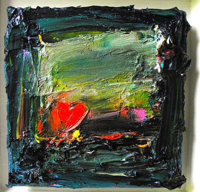 Love Notes 20 x 20 cms oil on canvas SOLD