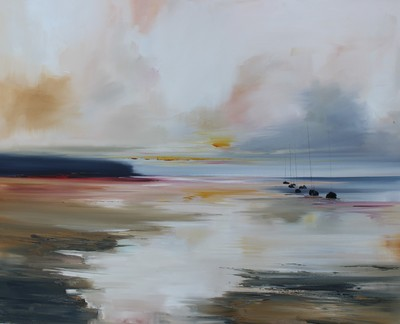 Rosanne Barr Headland in the Clearing oil on canvas 60 x 75 cms £1400