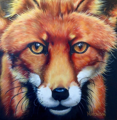 Mr Fox Oil 10 x 10 cms £495