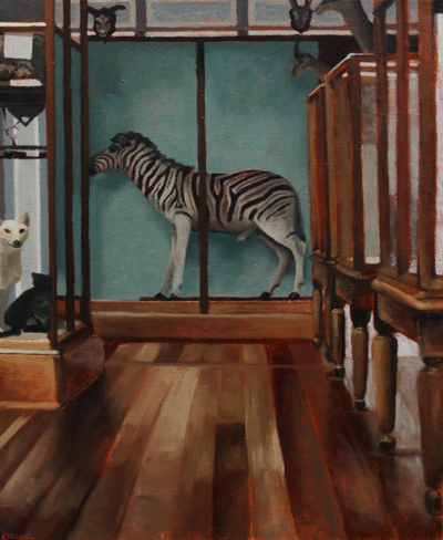 Jane Gardiner An Old Fashioned Zebra