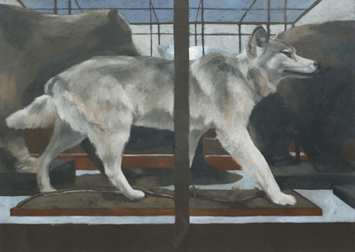 Jane Gardiner The Three Bears 51 x 72 cms £2000