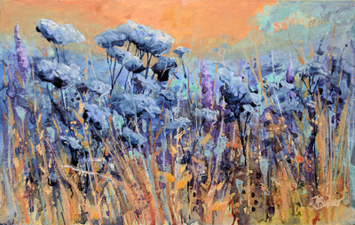 Tracy Butler Summer Wildflowers 25 x 40 cms £495