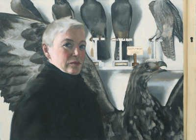 Jane Gardiner Eagle Eye 51 x 72 cms £2000