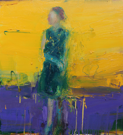 Henry Jabbour When the Light Returns II Oil on linen 60 x 56 cms £1400 SOLD