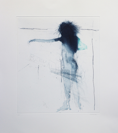 Henry Jabbour Dancer IV Sugar lift with aquatint and dry point 38 x 33 cms £560